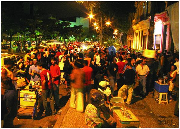Rio De Janeiro Guide for Lapa Bar Hopping Area